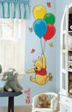 Winnie the Pooh - Pooh & Piglet Peel & Stick Giant Wall Decal Kalkomania ścienna