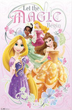 Disney Princess - Nouveau - Let the Magic Begin Posters