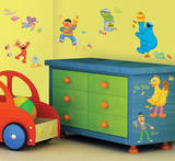 Sesame Street Peel & Stick Wall Decals Wall Decal