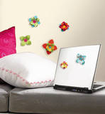 Flower 3-D Wall Decals Wall Decal
