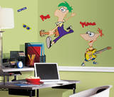 Sesame Street - Burt &amp; Ernie Peel &amp; Stick Giant Wall Decal Wall Decal