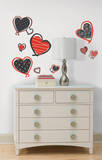 Mod Heart Peel & Stick Wall Decals Wall Decal