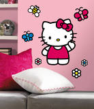 Hello Kitty-The World of Hello Kitty Peel & Stick Giant Wall Decals Wall Decal