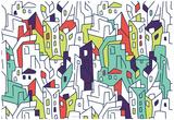 Annimo Concrete Jungle Print