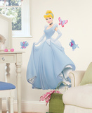 Disney Princess - Cinderella Peel &amp; Stick Giant Wall Decal Wall Decal