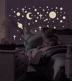 Celestial Peel & Stick Wall Decals Wall Decal