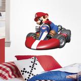 Nintendo - Mario Kart Peel & Stick Giant Wall Decal Kalkomania ścienna