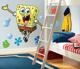 Spongebob Squarepants Peel & Stick Giant Wall Decals Wall Decal