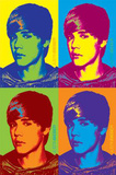 Justin Bieber - Pop Art Colors Pôsters