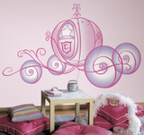Disney Princess - Princess Carriage Peel & Stick Giant Wall Decal Wallstickers