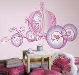 Disney Princess - Princess Carriage Peel & Stick Giant Wall Decal Lepicí obraz na stěnu