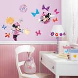 Mickey & Friends - Minnie Bow-Tique Peel & Stick Wall Decals - Duvar Çıkartması
