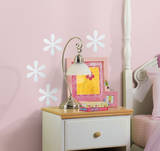 Flower Peel & Stick Mirror (Small - 4 pieces) Wall Decal