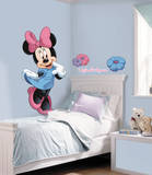 Mickey & Friends - Minnie Mouse Peel & Stick Giant Wall Decal Adhésif mural