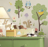 Woodland Animals Peel & Stick Wall Decals Wall Decal
