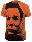 Halloween - Splatter Mask (Slim Fit) Camiseta