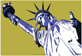Steez Lady Liberty - Yellow Prints