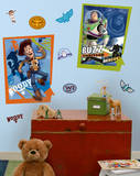 Toy Story - Buzz & Woody Peel & Stick Giant Poster Wall Decal