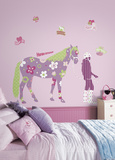 Horse Crazy Peel & Stick Giant Wall Decal Wall Decal