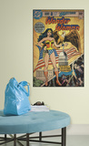 Wonder Woman Peel & Stick Comic Cover Wall Decal Wall Decal