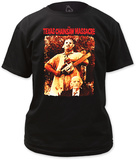Texas Chainsaw Massacre - Leatherface &amp; Grandpa T-shirts