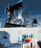 Batman Chair Rail Prepasted Mural Wall Mural