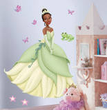 Princess & Frog - Tiana Peel & Stick Giant Wall Decal Wall Decal