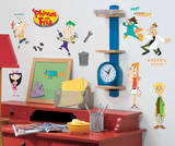 Phineas & Ferb Peel & Stick Wall Decals Wall Decal
