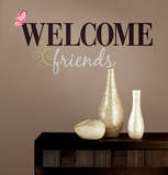 Welcome Friends Peel & Stick Wall Decals Wall Decal