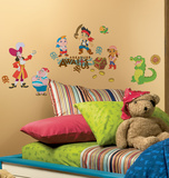 Jake and the Neverland Pirates Peel & Stick Wall Decals Wall Decal