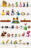 Super Mario - Grid Posters