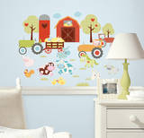 Animal Alphabet Peel & Stick Wall Decals Autocollant mural