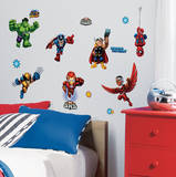 Marvel Super Hero Squad Peel & Stick Wall Decals Wall Decal