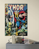 Thor Peel & Stick Comic Book Cover Wall Decal Wall Decal