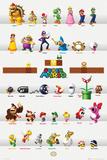 Nintendo - Super Mario Characters Poster