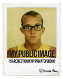 My Public Image Photographic Print by Keith Haring