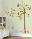 Happi Scroll Tree Peel & Stick Wall Decal MegaPack Wall Decal
