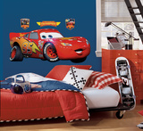 Cars - Lightening McQueen Peel &amp; Stick Giant Wall Decal Wall Decal