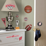 University of Wisconsin Peel & Stick Wall Decals Wall Decal