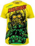 Mars Attacks - Big Yellow Martian (Slim Fit) T-shirts