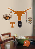 Univ. of Texas Peel & Stick Giant Wall Decal w/Hooks Wall Decal