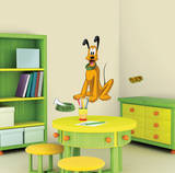 Mickey & Friends - Pluto Peel & Stick Giant Wall Decal Vinilo decorativo
