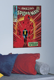 Spiderman Walking Away Peel & Stick Comic Book Cover Wall Decal Wall Decal