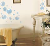 Bubbles Peel & Stick Wall Decals Kalkomania ścienna