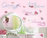 Disney Princess - Princess Quotes Peel & Stick Wall Decal Vinilo decorativo