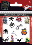 Nightmare Before Christmas Halloween Bitty Bits Stickers Stickers