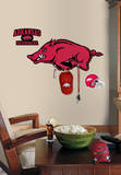 Univ. of Arkansas Peel & Stick Giant Wall Decal w/Hooks Wall Decal