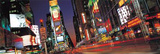 New York City - Times Square Lights at Night Prints
