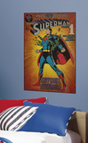 Superman Kryptonite Peel & Stick Comic Cover Wall Decal Wall Decal