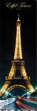 Eiffel Tower - Paris Lights at Night Prints